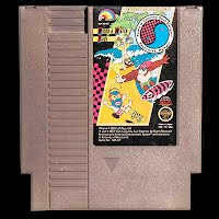 Vintage NES Nintendo Wood and Water Rage Game