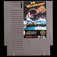 Vintage NES Nintendo 3 D World Runner Game