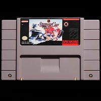 Vintage Super Nintendo Stanley Cup Game
