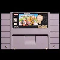 Vintage Super Nintendo Super Mario Kart Game