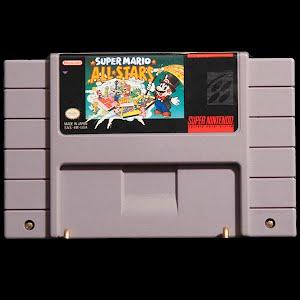 Vintage Super Nintendo Super Mario All Stars Game