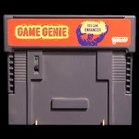 Vintage Original Super Nintendo Game Genie