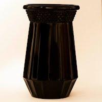 Vintage Black Paden City Vase