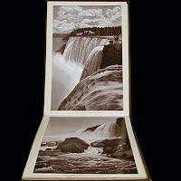Antique Book, Album of Niagara Falls, 1892