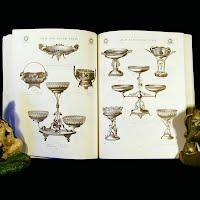 Antique Catalog, The Meriden Britannia Silverplate Treasury 1886 Catalog