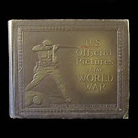 Antique Book: U.S. Official Pictures of the World War, 1920
