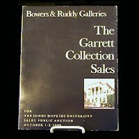 Vintage Auction Catalog: The Garret Collection Sales, Oct 1-2 1980
