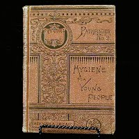 Antique Book, Hygiene for Young People, 1885