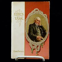 Antique Book, Life's Task, Robert Louis Stevenson