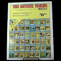 Vintage Book: Annual of Articles on Antiques for 1973, The Antiques Trader Weekly