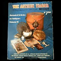 Vintage Book: Annual of Articles on Antiques for 1974 Volume III, The Antiques Trader Weekly