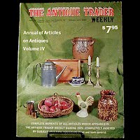 Vintage Book: Annual of Articles on Antiques for 1975 Volume IV, The Antiques Trader Weekly