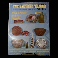 Vintage Book: Annual of Articles on Antiques for 1979 Volume VIII, The Antiques Trader Weekly