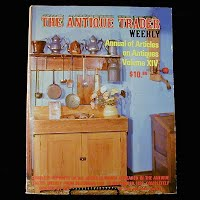 Vintage Book: Annual of Articles on Antiques for 1984, The Antiques Trader Weekly