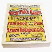 Vintage Book, 1908 Sears, Roebuck Catalogue, 1969