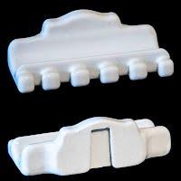 Antique Porcelain Toothbrush Holder