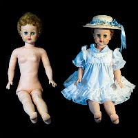 Vintage Big Girl Doll