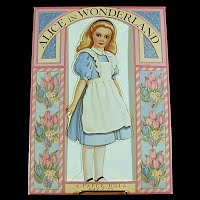 1992 Alice in Wonderland Paper Doll, Peck-Grande