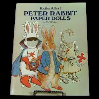 Vintage 1982 Peter Rabbit Paper Doll, Dover Publications