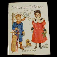 Vintage 1996 Victorian Children Paper Dolls, General Publishing Co