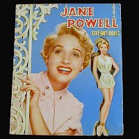 Vintage Jane Powell Paper Dolls