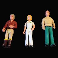 Vintage Fisher Price Adventure Series People