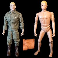 Vintage First Original GI Joe Doll, patent pending