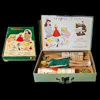 Vintage Singer Mannequin Sewing Doll 1949 with box