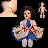 Vintage Ideal Toni Doll 1954 walker