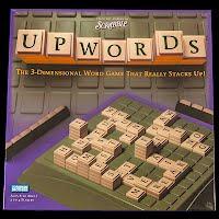 Vintage New Upwords Scrabble Game, 1988