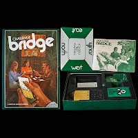 Vintage Challenge Bridge 3M Bookshelf Game 1972
