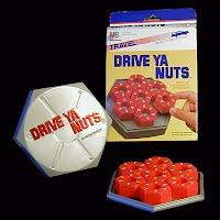 Vintage Drive Ya Nuts Travel Game