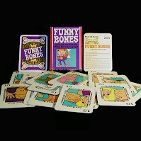 Vintage Funny Bones Card Game