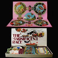 Vintage 1975 The Magnificent Race Game, Parker Brothers