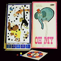 Vintage Oh My Board Game