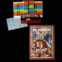 Vintage 3M Mr President Bookshelf Game
