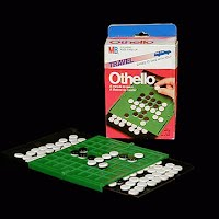 Vintage Milton Bradley Othello Travel Game