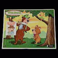 Vintage Yogi Bear Puzzle, 1963