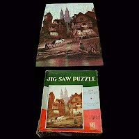 Antique Jig Saw Puzzle Coventry