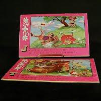 Vintage Nursery Rhyme Puzzles, 1948