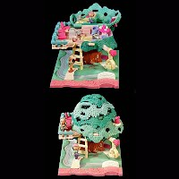 Vintage Polly Pockets Tree House, Bluebird Toys
