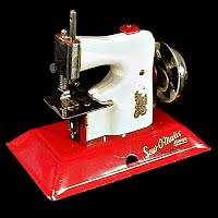 Vintage Sew-O-Matic Junior Child's Sewing Machine, Little Betty, made in England