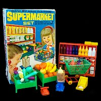 Vintage Super Market Set 1965