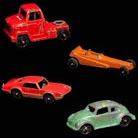 Vintage Mini Tootsietoy Vehicles