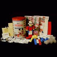 Vintage American Plastic Bricks 725, 1953