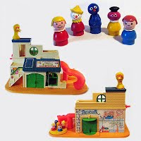 Vintage Sesame Street Clubhouse, 1977