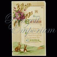 Antique Easter Post Card 1914