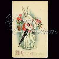 Antique Easter Post Card 1925
