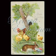 Antique Easter Post Card 1920