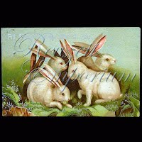 Antique Embossed Easter Post Card 1908